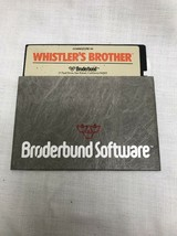 Whistler's Brother for Commodore 64 by Broderbund - $74.25