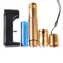 5mW Laser Pointer Battery Charger Pen Power Blue Purple Burning Light Be... - $16.99