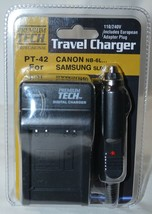 Adorama PT-42 AC/DC Rapid 4.2 volt Battery Charger f/Canon NB6L Samsung SLB-10A - $13.30