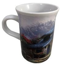 Mug Cup Lilac Cottage Thomas Kinkade 9oz 2004 Garden Home Coffee Tea - $15.84