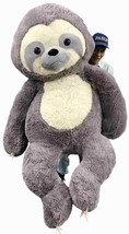 Giant Stuffed Sloth 7 Foot 84 Inches Soft 213 cm Big Plush Huge Stuffed ... - $249.99