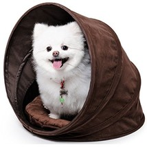 "bouti1583 Collapsible Pet House with Removable Cushion Spiral (Dia. 27.1"") - $42.80"