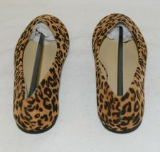 Anna Truman 1 Loepard Print Suede Womens Flats Size 5 And Half image 5