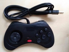 Sega Saturn Style USB Wired PC Computer Controller for usb 2.0 not 3.0 N... - $11.43