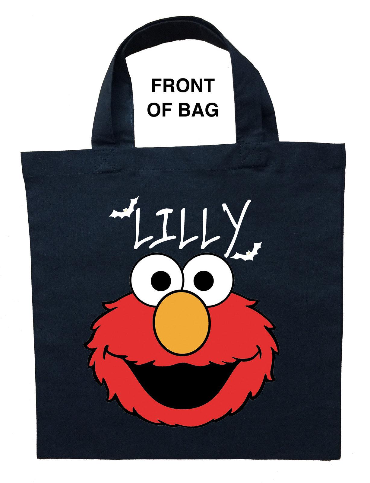 Elmo Trick or Treat Bag - Personalized Elmo Halloween Bag