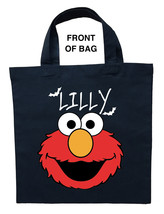 Elmo Trick or Treat Bag - Personalized Elmo Halloween Bag image 1