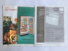 Owner's Manual Sears Coldspot Spacemaster Thinwall Freezer Guide & Resource Book - $19.75