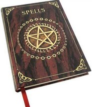 Spell Book Red journal - #BBBU145 - $12.95