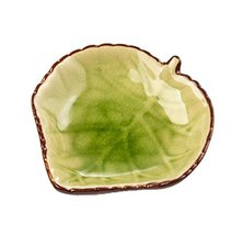 Black Temptation 4PCS [Grape Leaf Design] Creative Porcelain Sauce Dishes #01 - $34.28