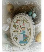 Here A Peep There A Peep cross stitch chart  With Thy Needle  - $12.00