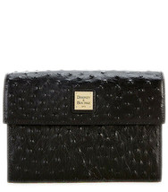 Dooney & Bourke Ostrich Beacon Collection East West Flap Crossbody, Blac... - $245.52