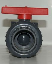 American Granby Inc ITUV 125SE 1 1/4 Inch PVC Blocked True Union Ball Valve image 3