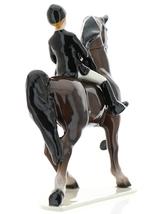 Hagen-Renaker Specialties Ceramic Figurine Dressage Horse with Rider image 4