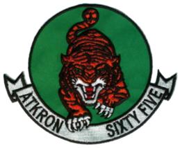 US Navy VA-65 Tigers Patch & Sticker NEW!!! - $19.79