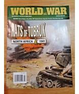 WORLD AT WAR 2019 Magazine #64 Rats of Tobruk  North Africa 1941 - $14.35