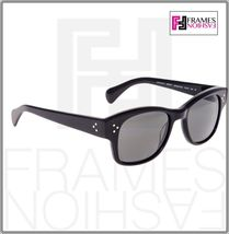 OLIVER PEOPLES Jannsson Sun OV5242S Shiny Black VFX Polarized Sunglasses 5242 image 5