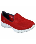 Skechers Shoes Red Go Walk Smart Women's Casual Slip On Comfort Sport Me... - $39.99