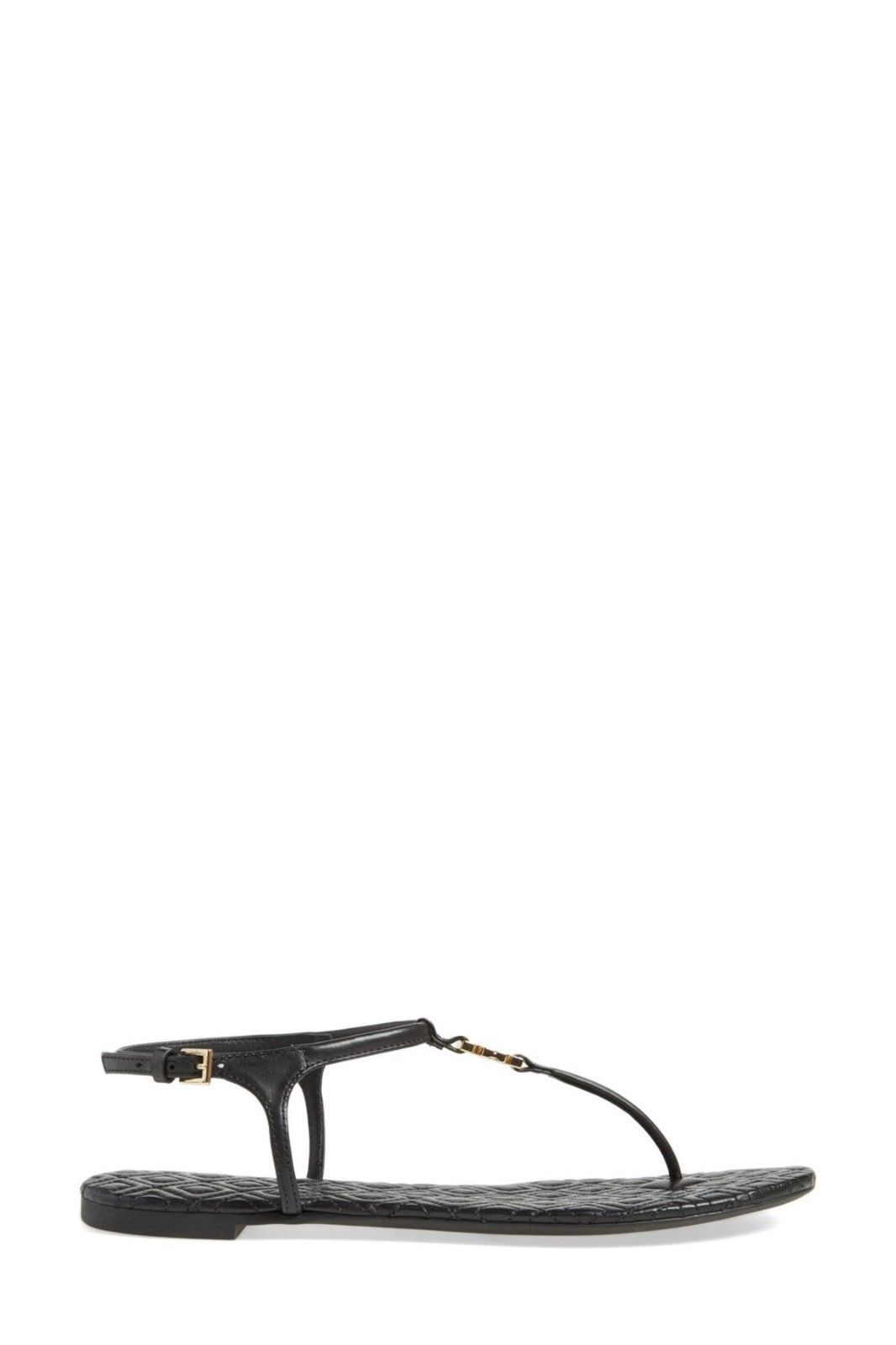 Tory Burch Marion Quilted Sandal - Black