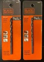 "Black & Decker # 19107 3/16"" HSS Premium Bullet Drill Bit 2pcs. - $6.93"