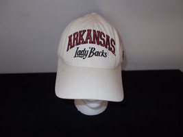 VTG-1990s Reebok Lady Razorbacks Arkansas golf strapback hat sku5 - $27.83