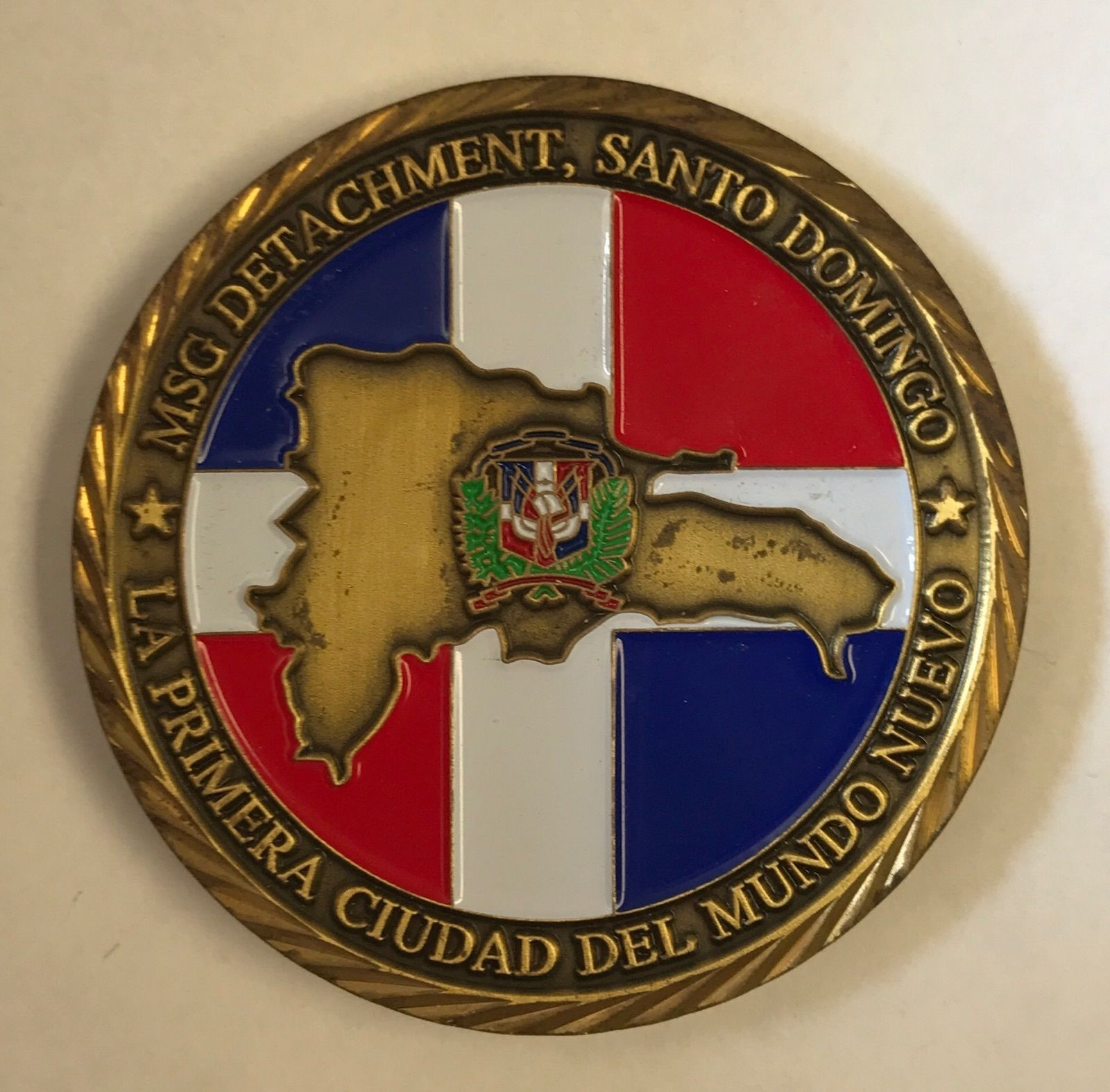 USMC MSG Det Marine Security Guard Det Santo And 50 Similar Items