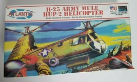 Atlantis Aurora Reissue 1/48 H25A HUP-2 Army Mule Helicopter Model Kit A... - $19.99