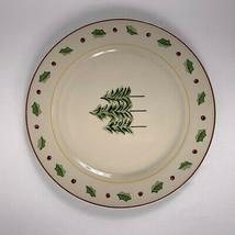 Merry Brite Dinner Plates Christmas Tree Lot of 2 MBT1 - $19.79