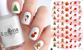 Classic Christmas Nail Decals - Vol I (Set of 64) - $4.95