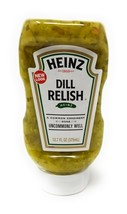 Heinz Dill Relish, 12.7 Ounce Bottles (Pack of 3) - $19.43