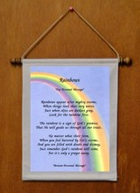 Rainbows - Personalized Wall Hanging (224-1) - $19.99