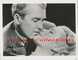 James Stewart signed photo. NICE ! Romantic ! - $66.95