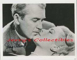 James Stewart signed photo. NICE ! Romantic ! - $66.95