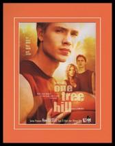 One Tree Hill 2003 WB Framed 11x14 ORIGINAL Advertisement Chad Michael M... - $32.36