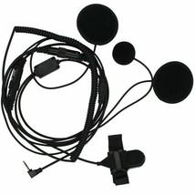 Motorola Micro Speaker Kit For Closed Motorcycle Helmet With Handlebar Push... - $24.18