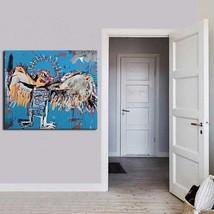 """Jean Michel Basquiat """"Fallen angel"""" HD print on canvas huge wall picture... - $20.78"""