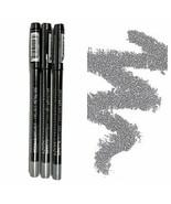 3 THREE NYX PROFESSIONAL MAKEUP Metallic Eyeliner Silver MEL02 0.048 Oun... - $16.66