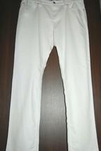 Armani Collezioni Italy White Cotton Jeans Men's Casual Pants  Sz US 38 EU 54 - $138.59