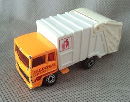 Matchbox super fast ,Refuse truck ,1979 #36 Disposal unit 24 Mattel Toy Vintage - $5.99