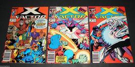 3 1989 Marvel Comics X FACTOR 41 F,44 F,45 F  Comic Books - $11.69