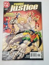 Comic Book Young Justice #53 (Mar 2003, DC) Secret Spoiled David Nauck S... - $5.19