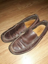 Cole Haan Brown Leather Casual Slip On Driving Loafers Shoes Men's 9.5 M - $27.72