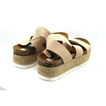 Steve Madden Kimmie Flatform Espadrille Sandal size 5 - $65.55