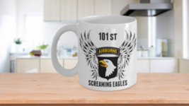 Army 101st Mug Airborne Division Screaming Eagles Wing Veteran Christmas... - $13.70