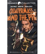 QUATERMASS and the PIT (vhs) Widescreen, Hammer Films crashed UFO, deleted title - $14.99