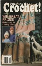 Hooked on Crochet! Number 17 Sep-Oct 1989 crochet patterns - $2.97