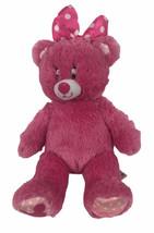 Build A Bear Disneyland Downtown Disney Minnie Mouse Plush Hot Pink - $12.38