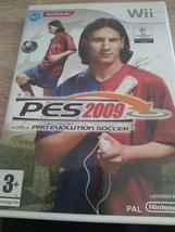 Nintendo Wii~PAL REGION PES 2009-Pro Evolution Soccer image 1