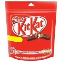 Nestle Kitkat Share Bag Chocolate Pack of 3 X 132 Gm from India - $31.00