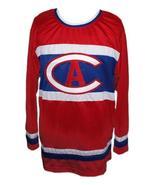 Custom   montreal retro hockey jersey red   1 thumbtall