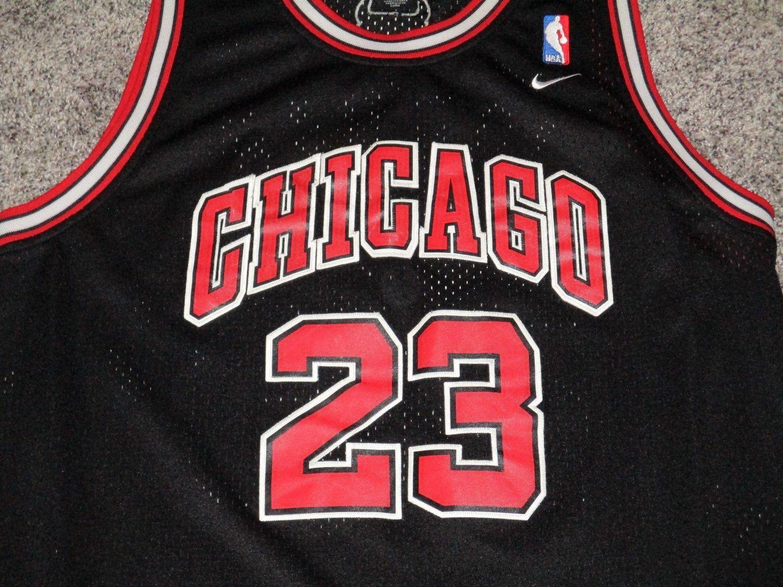detailed look 1239b d77b1 AUTHENTIC Michael Jordan Chicago Bulls and 50 similar items